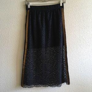 Zara Trafaluc Lace Skirt NWOT